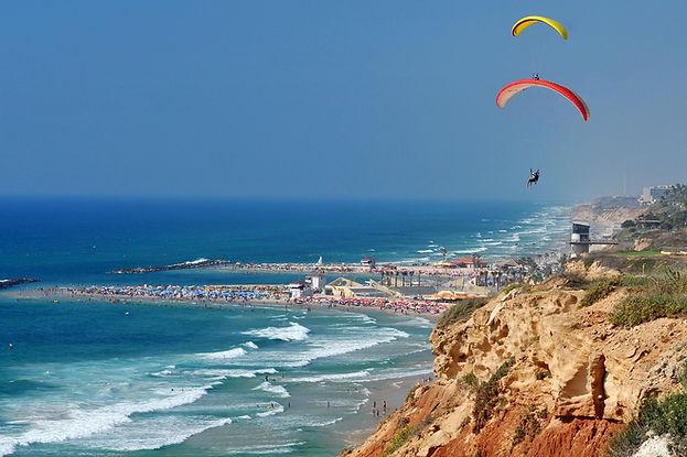 Paragliding in Tel Aviv