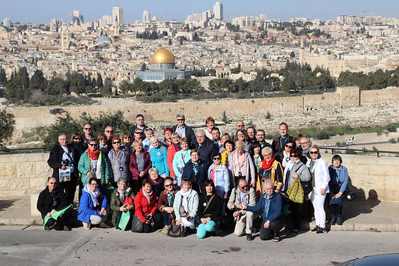Group experience having a Jerusalem tour