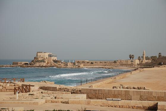 caesarea coast in israel