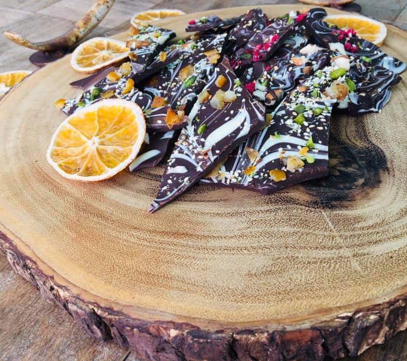 Chocolate & Nut Shards