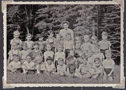 1958-06 Klassenfoto der Klasse 1c