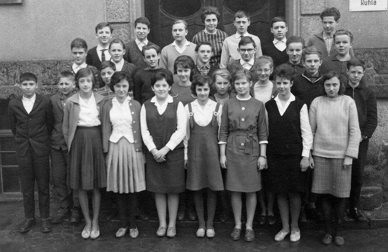 1965-03 Klasse 8c (Jugendweihe)