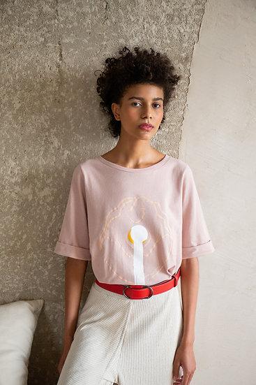 Camiseta Maria - Rosa