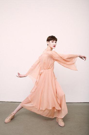 Vestido de seda Pina