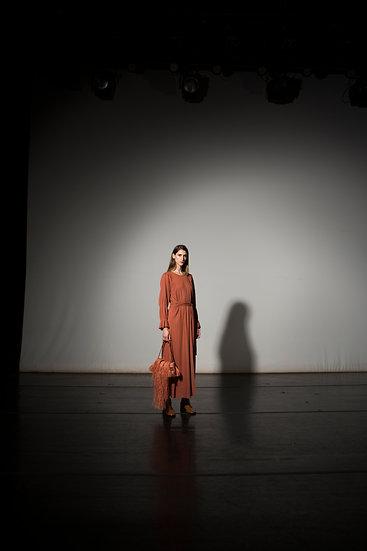 Vestido Bambu / Marrom
