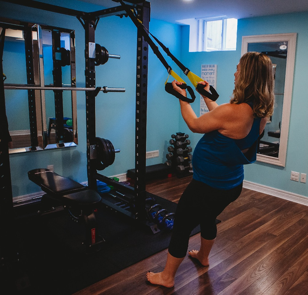 TRX Pregnancy Workout