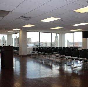 4th Floor Gallery - sample presentation setup