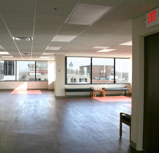 4th Floor Gallery - view looking west