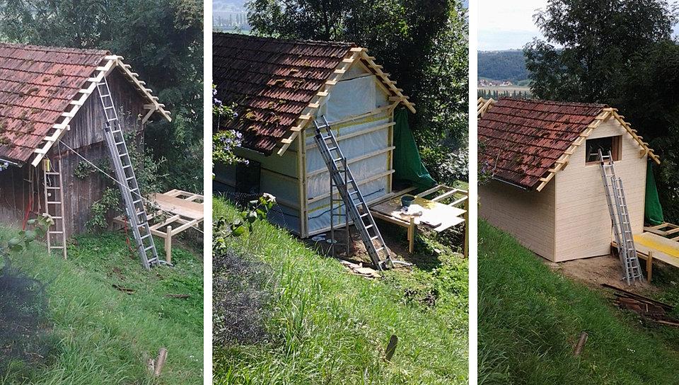Boiton menuiserie for Cabane de jardin suisse