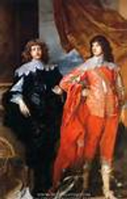 Lord George Digby and brother-in-law