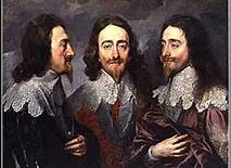 Triple Portrait of Charles I