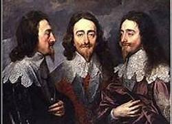 Triple Portrait of Charles I