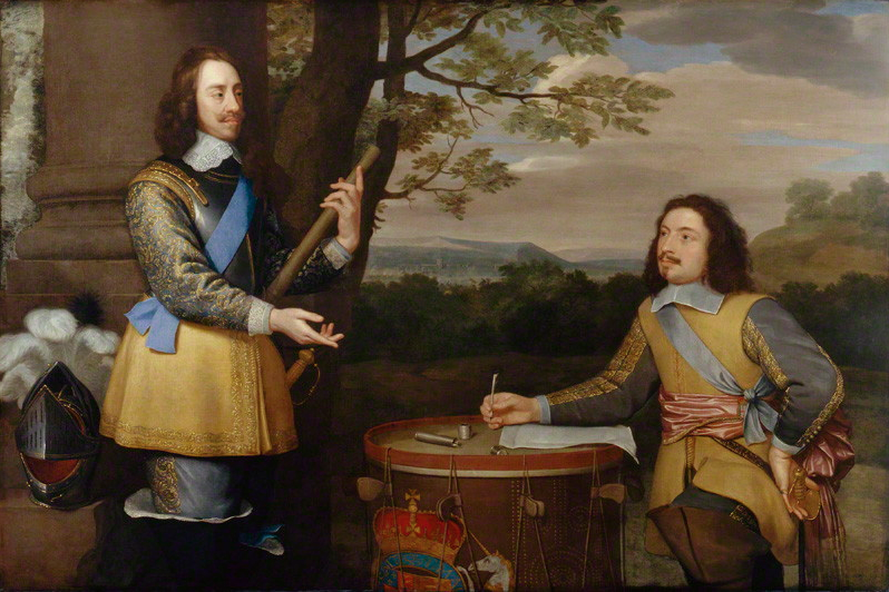 Charles I with Sir Edward Walker