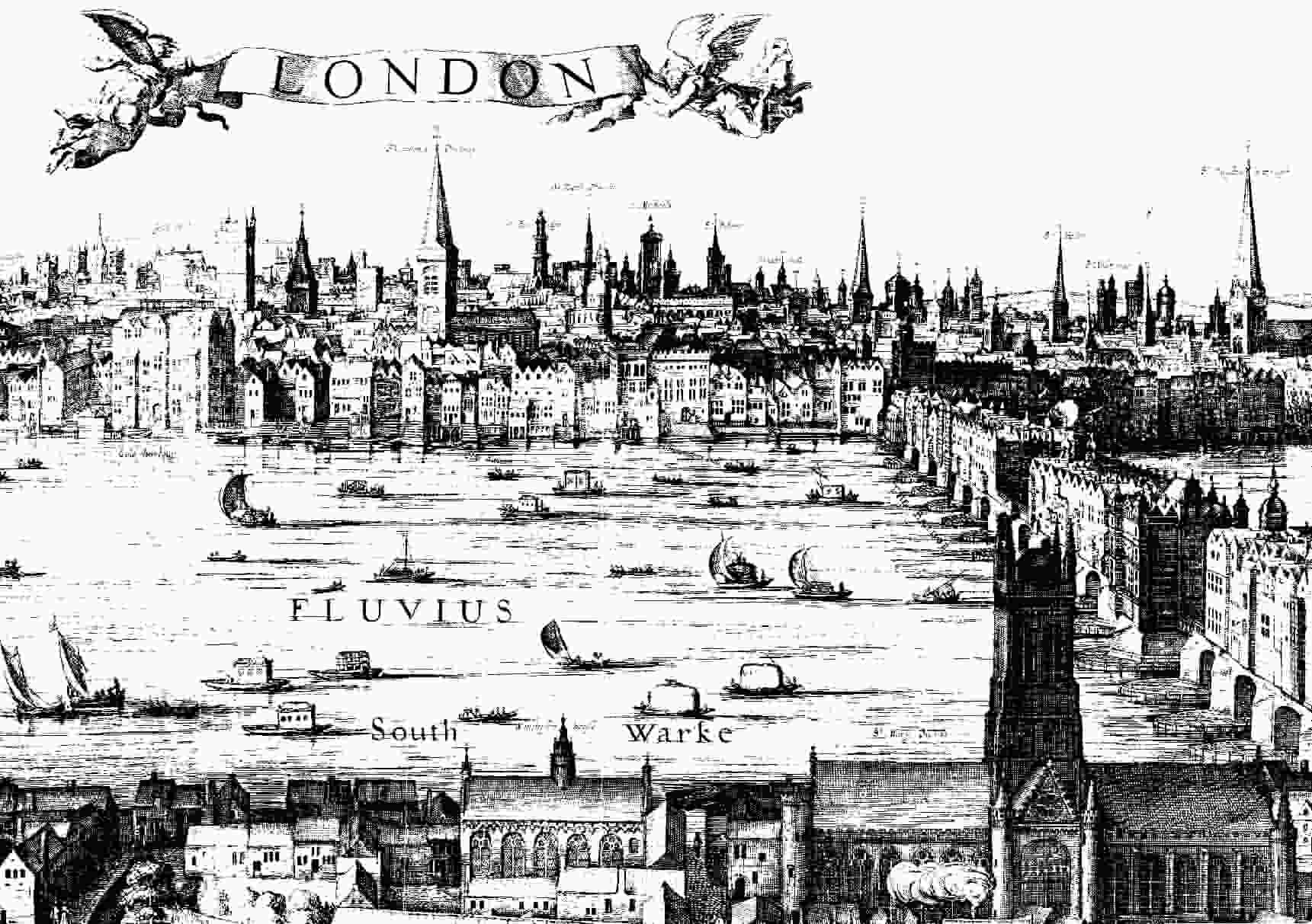 London in the 17th century