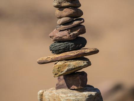 Ruimte vinden op je 'rocky road' - 3 stappen