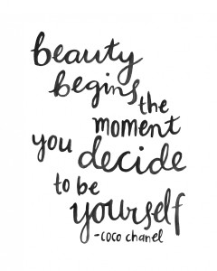 Let's redefine beauty!