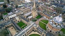 unsplash - oxford overview university -