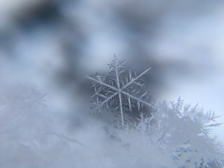 Sneeuw, een coronatest en de rust van Pasen