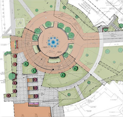 Campus Plaza Drawing
