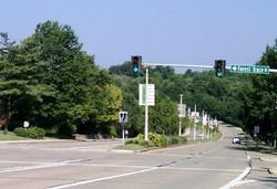 View of Parkway Medians