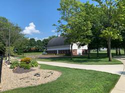 Historic Barn & Pool Landscape