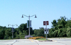 Parkway Median Intersection