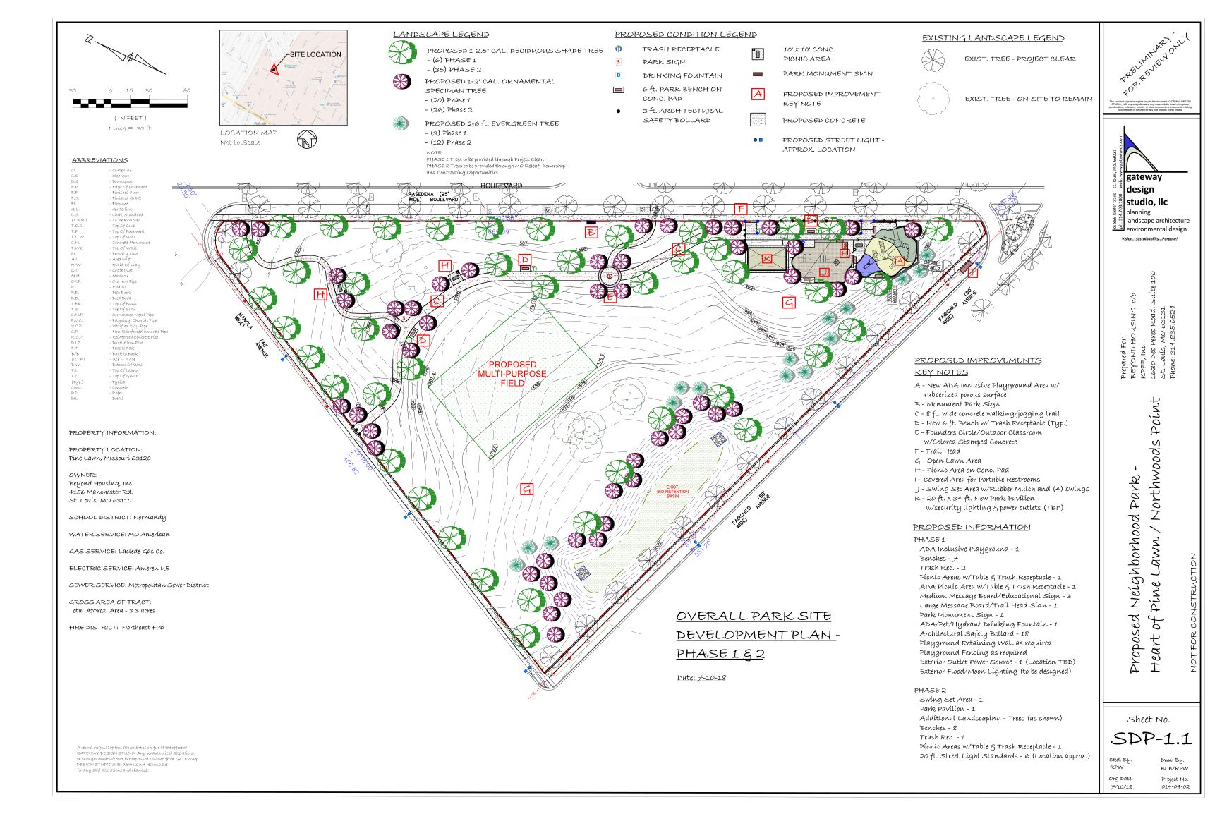 Park Development Plan