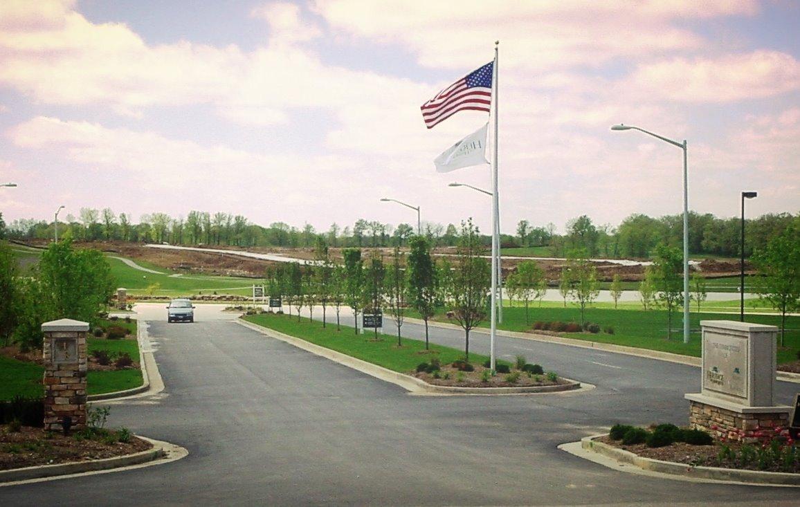 Main Entrance Drive