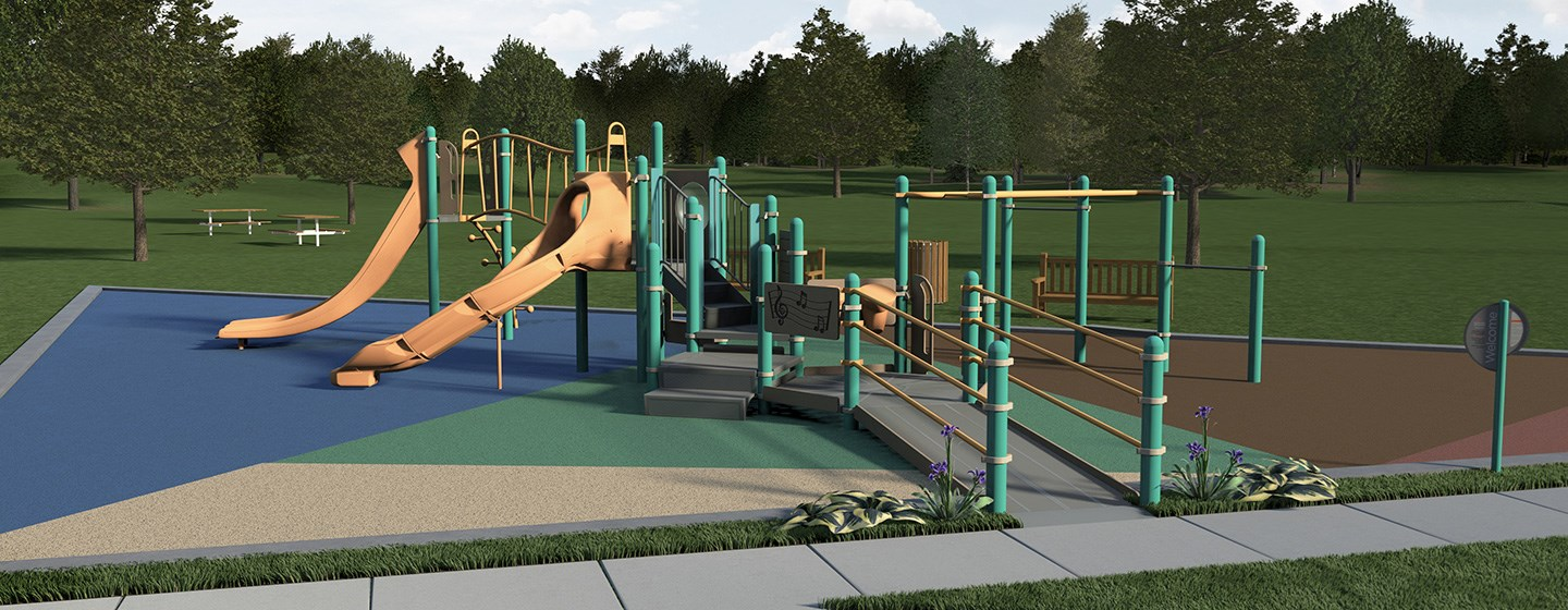 Inclusive Playground Concept Image