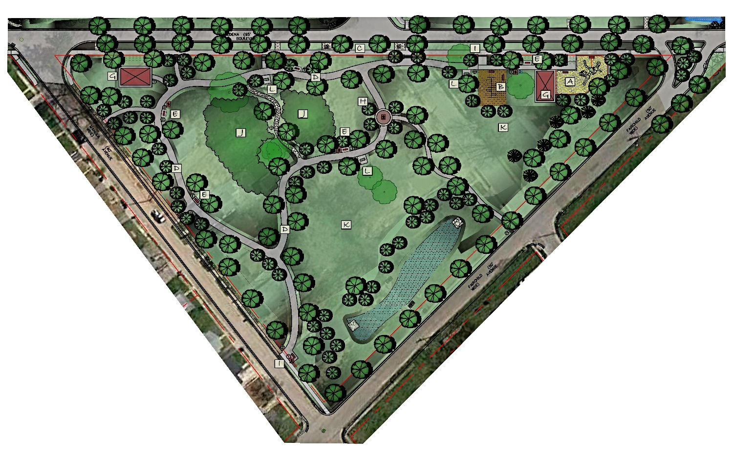 Overall Concept Park Plan