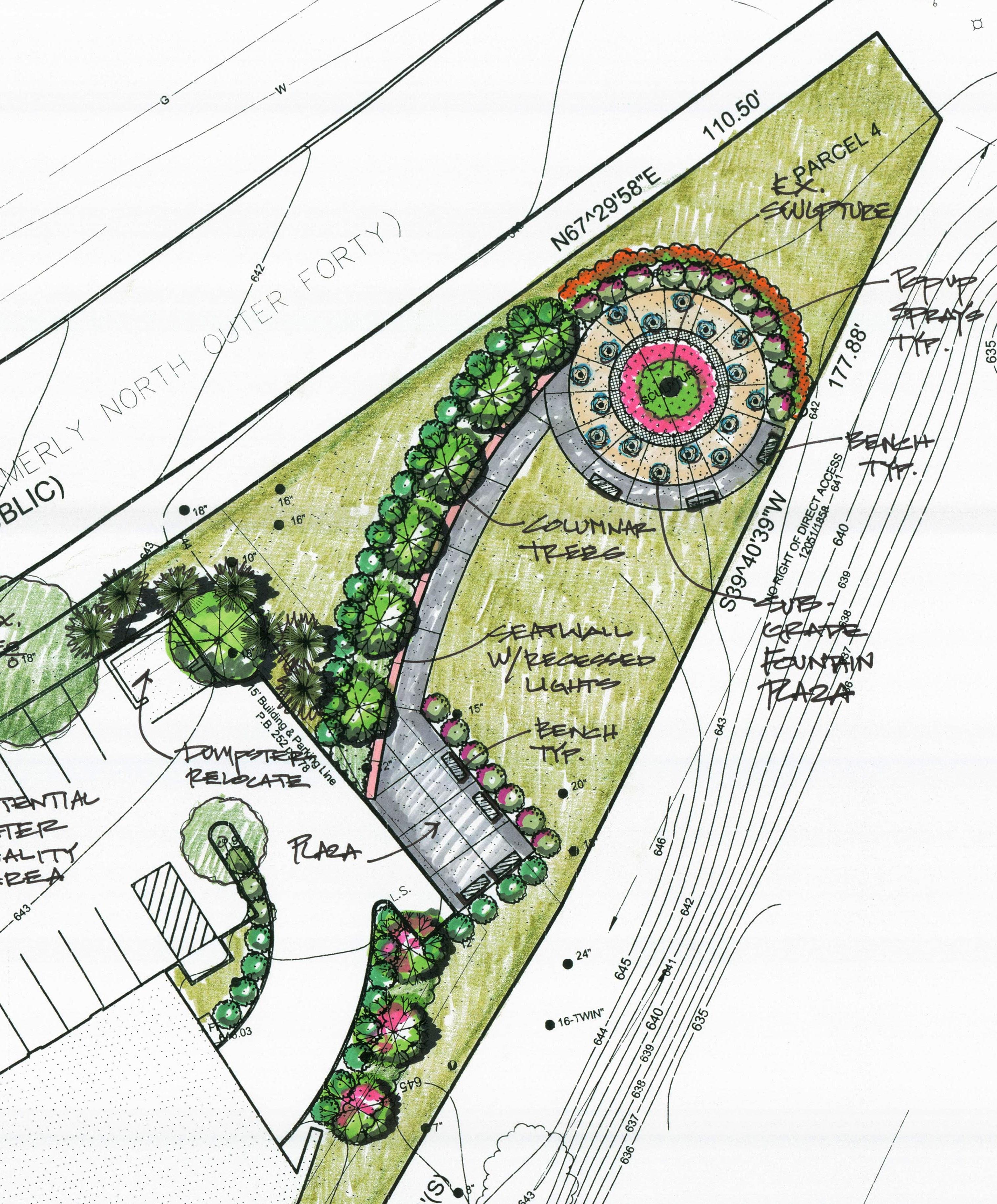 Concept Plan - Sculpture Park