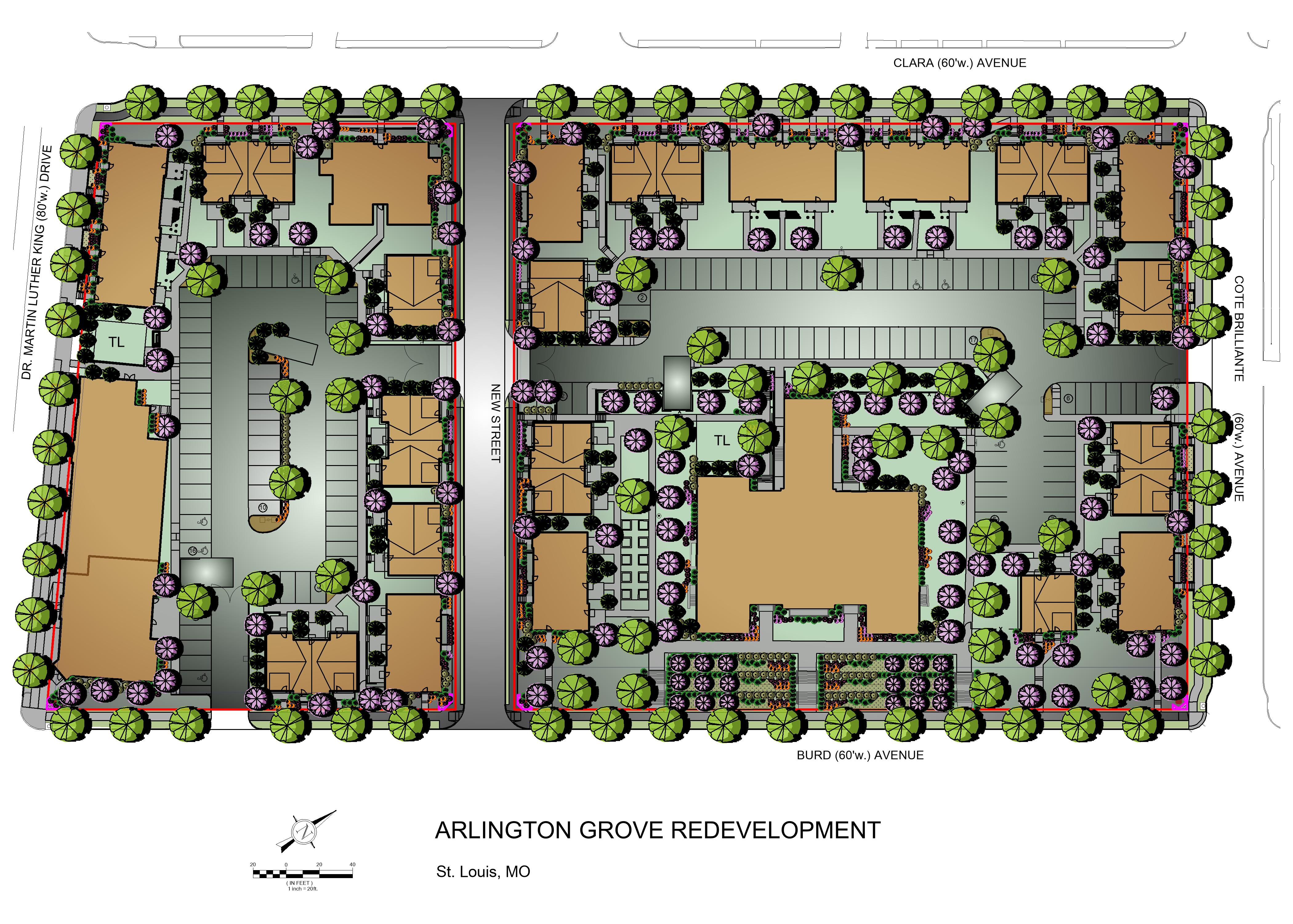 Overall Landscape Development Plan