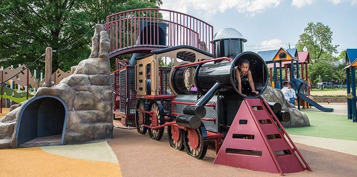 Concept Image of Train Playground