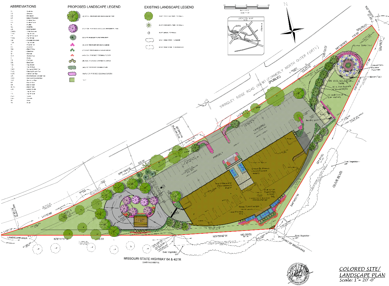 Overall Site Development Plan
