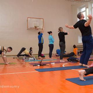 развитие и здоровье благодоря йоге
