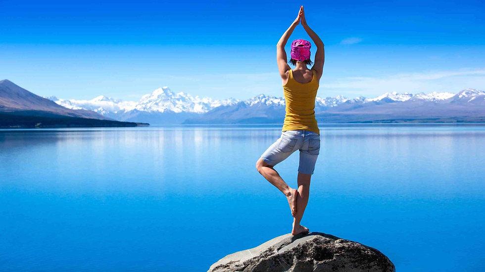 """Занятие йогой """"Учебная йога"""""""