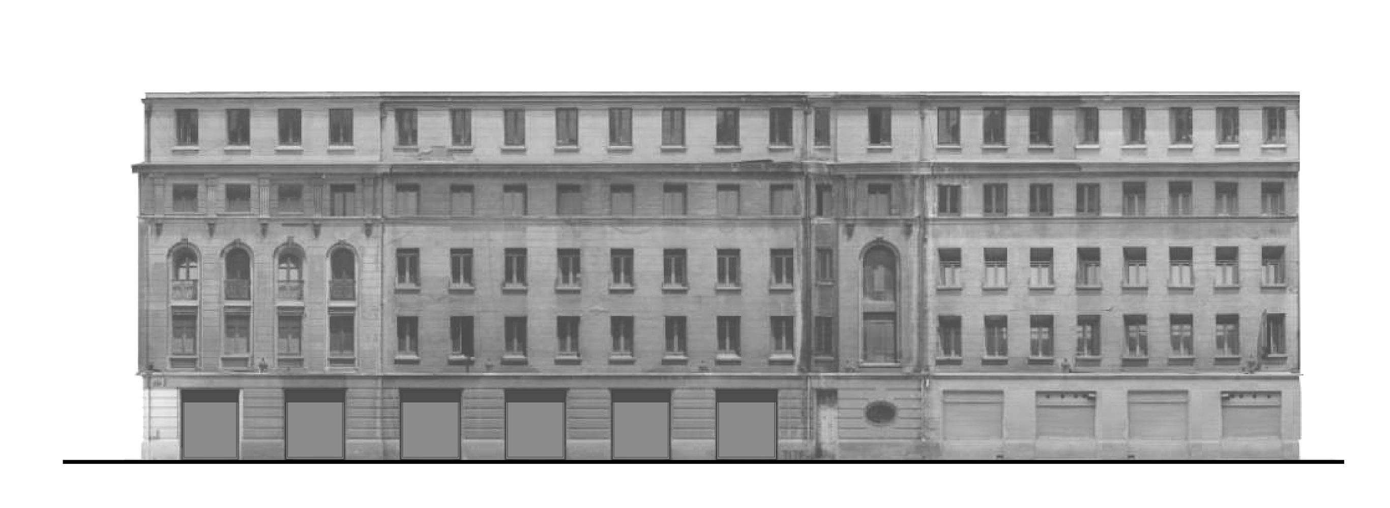 fachada Huneeus