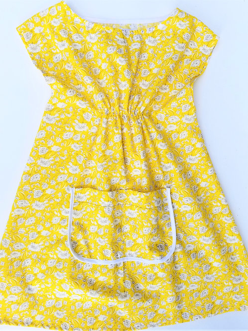 Yellow Daisy Dress