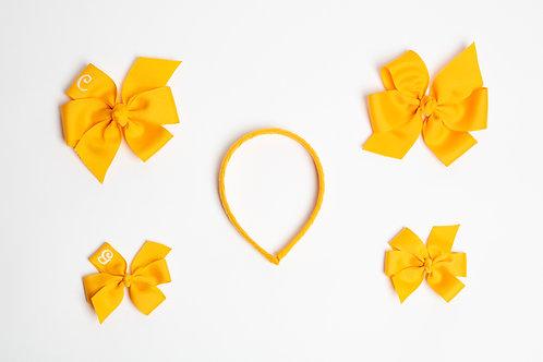 Small Plain Flower Bow
