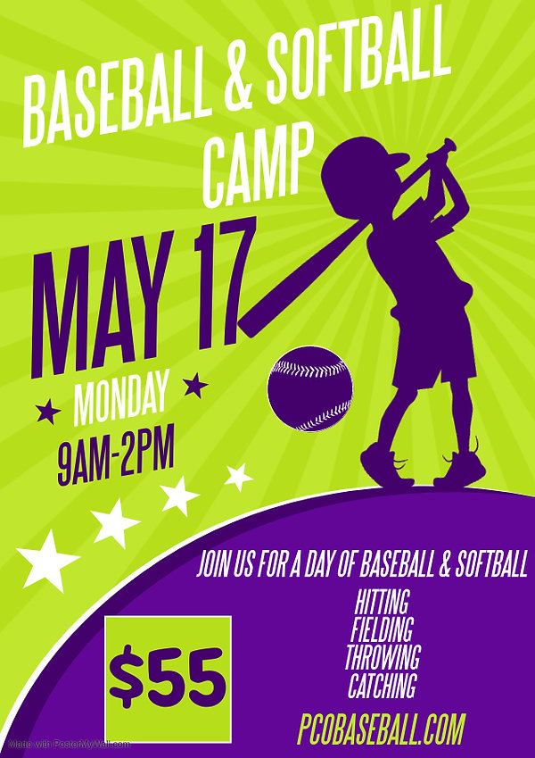 Copy of BASEBALL KIDS POSTER - Made with