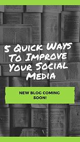 5 Quick Ways To Improve Your Social Medi