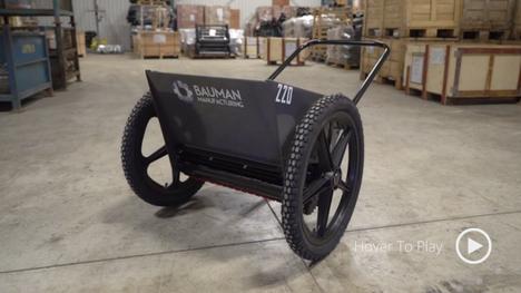 220 Push Drop Spreader - Bauman Manufacturing