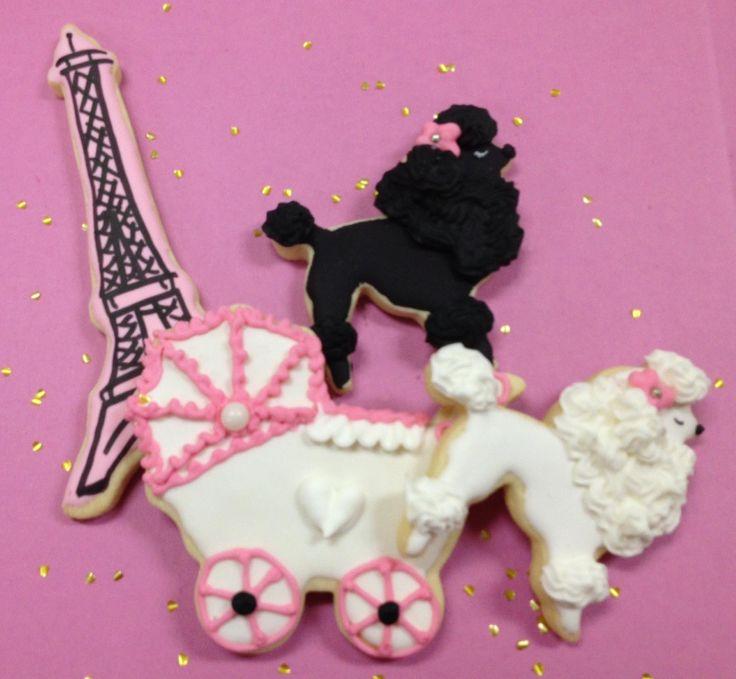 Paris Party Cookies