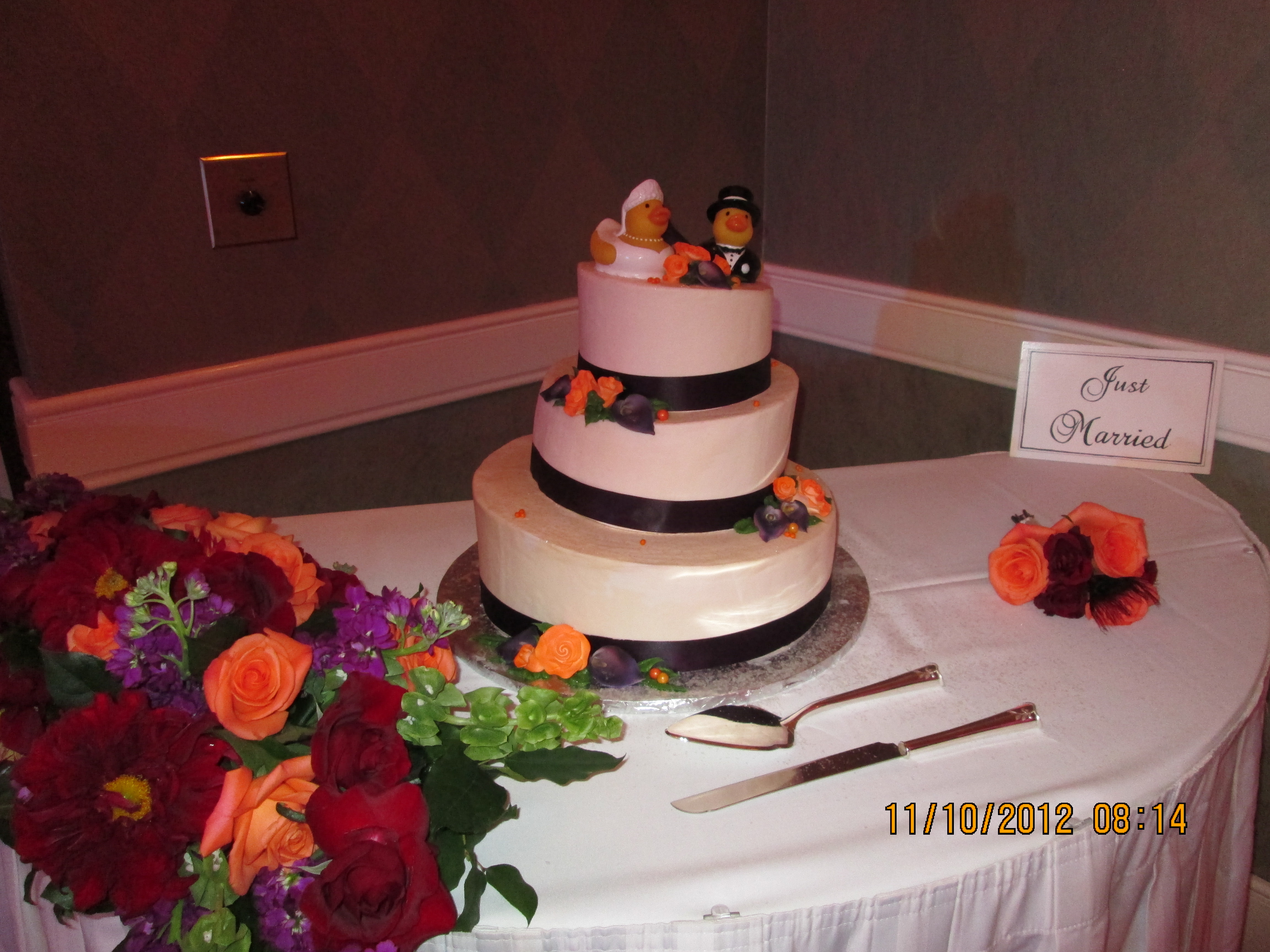 Rubber Ducky Wedding