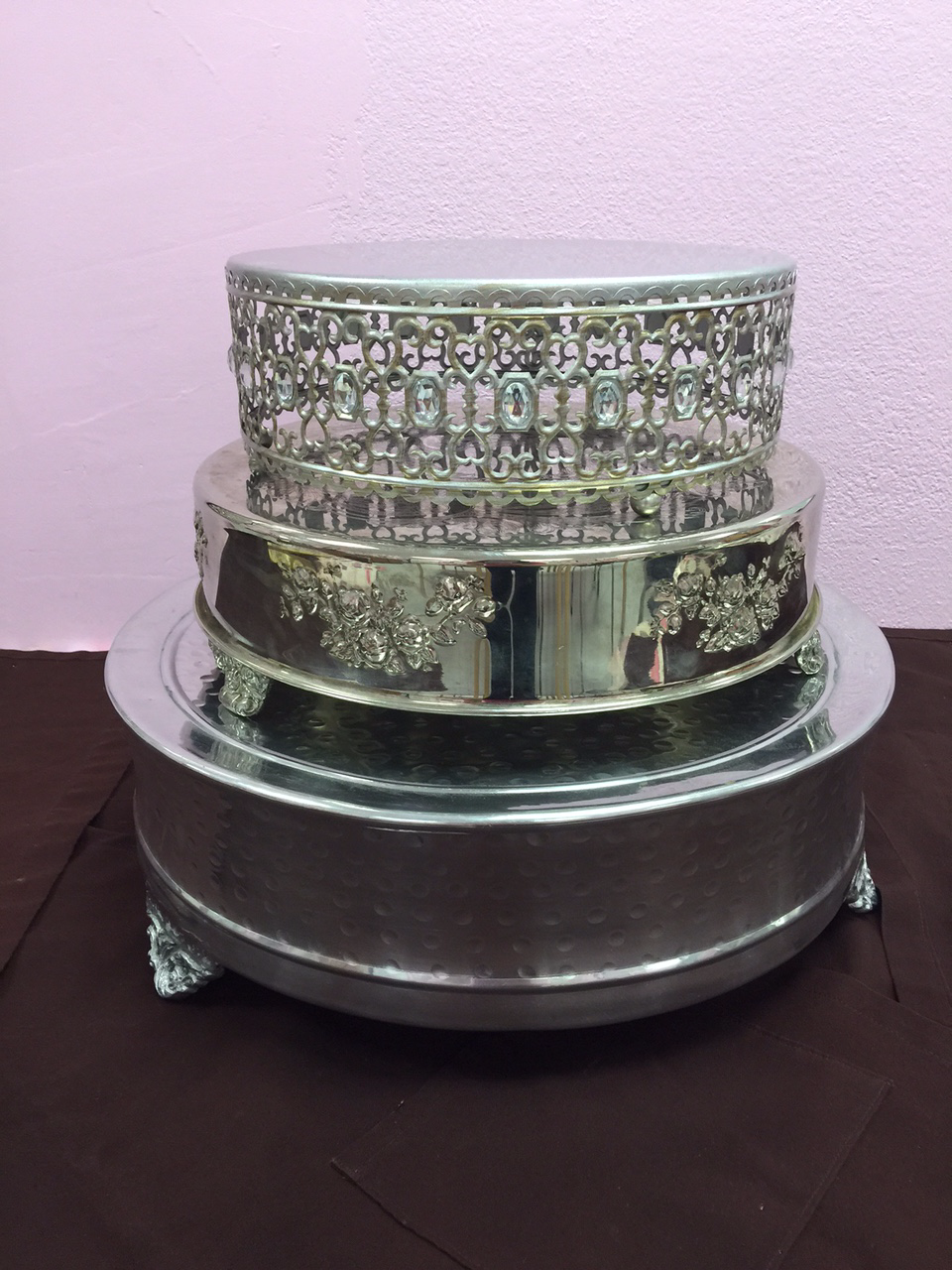 Silver Cake Stands