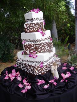 Sam and Michelle's Wedding Cake