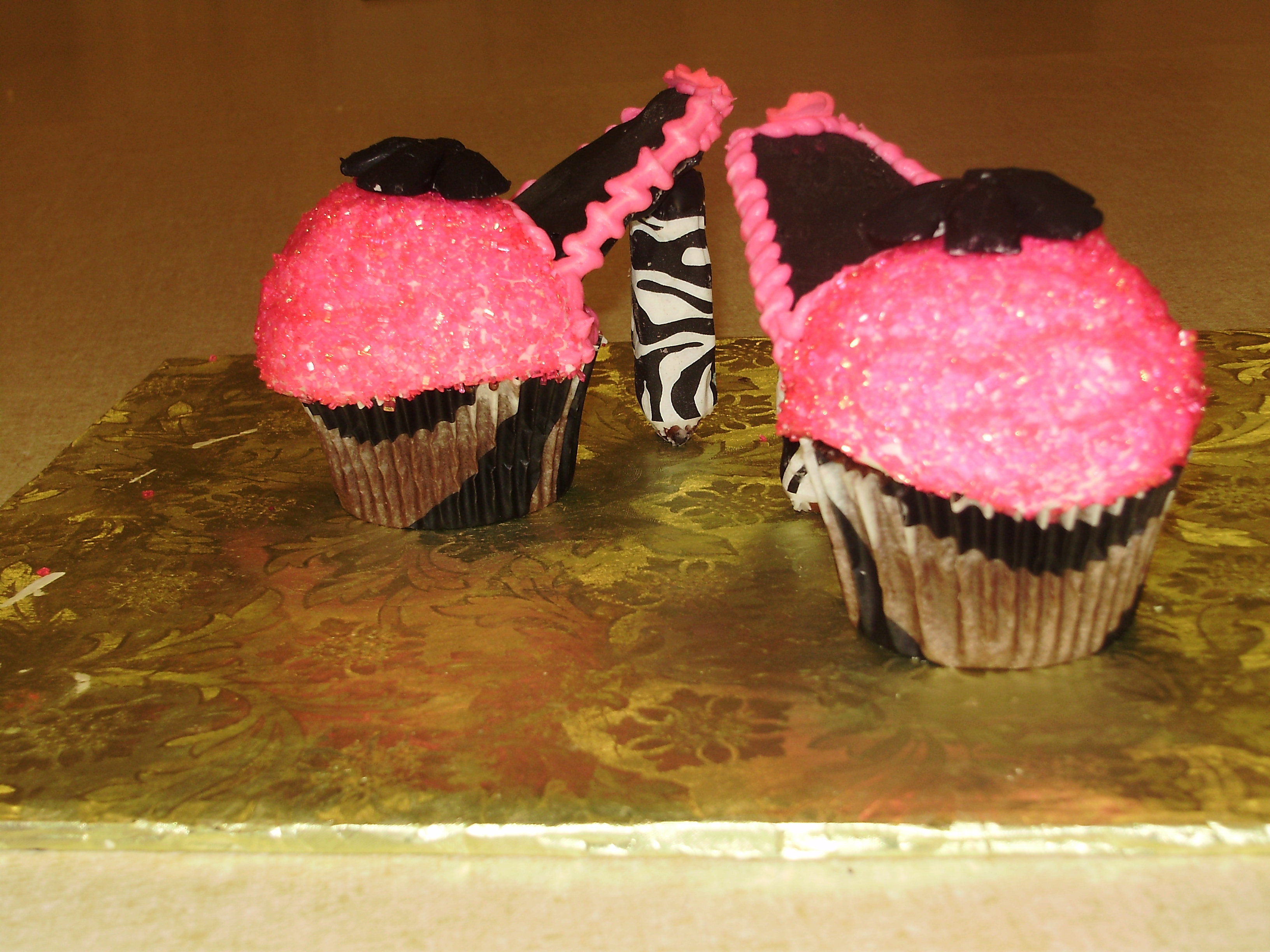 Pink Cupcakes Heels