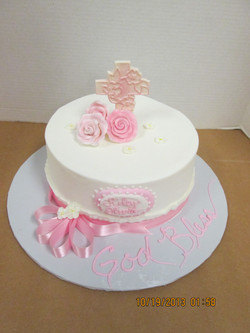 Girl's Confirmation Cake