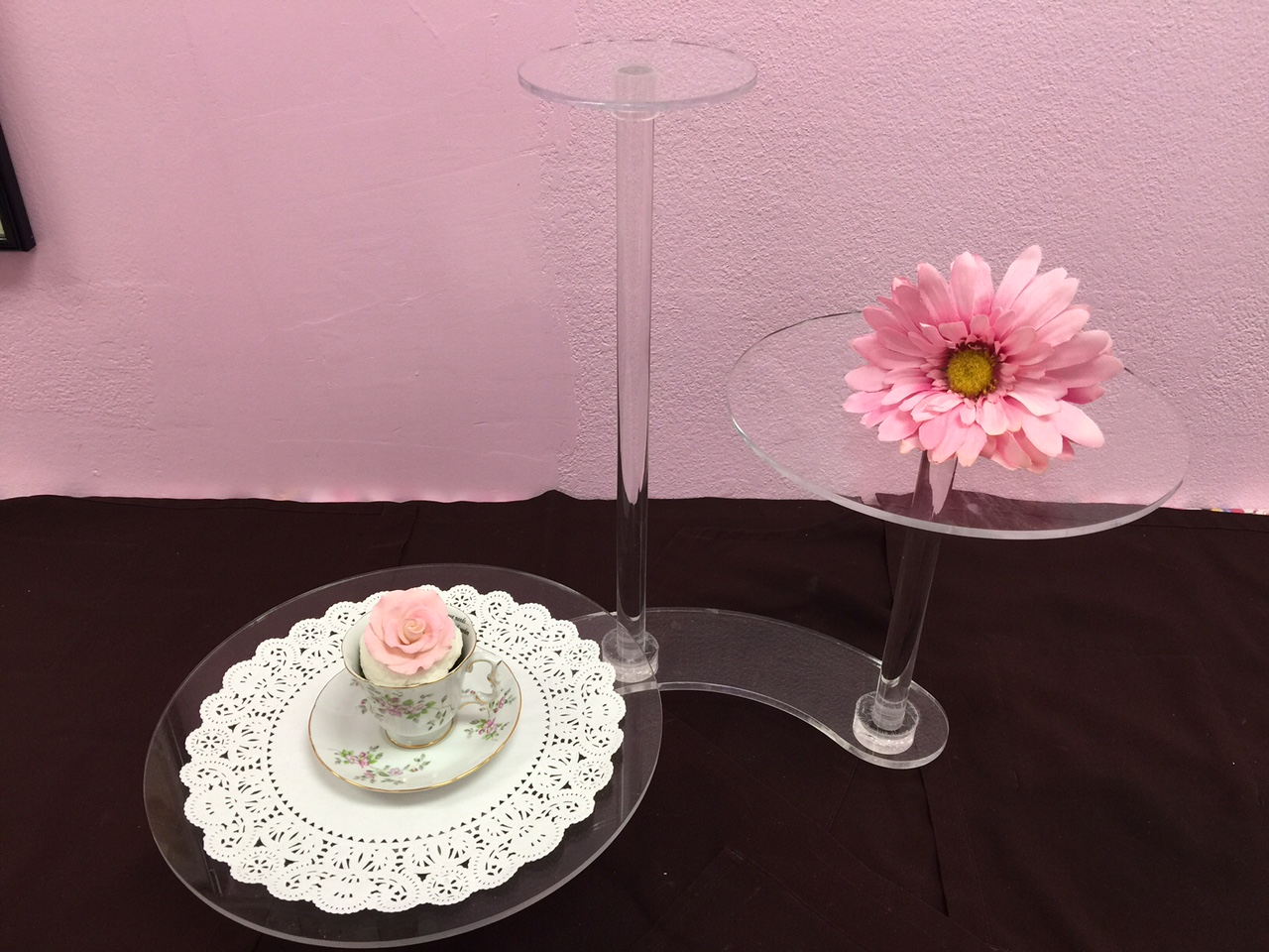 Acrylic Floating Stand