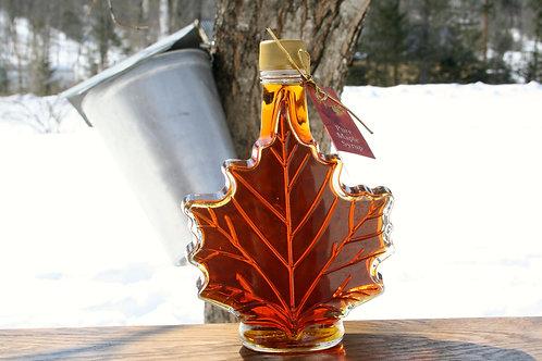 Glass Maple Leaf 250ml